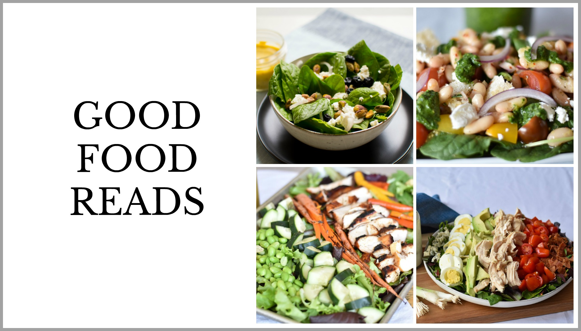 Good Food Reads Summer Salads