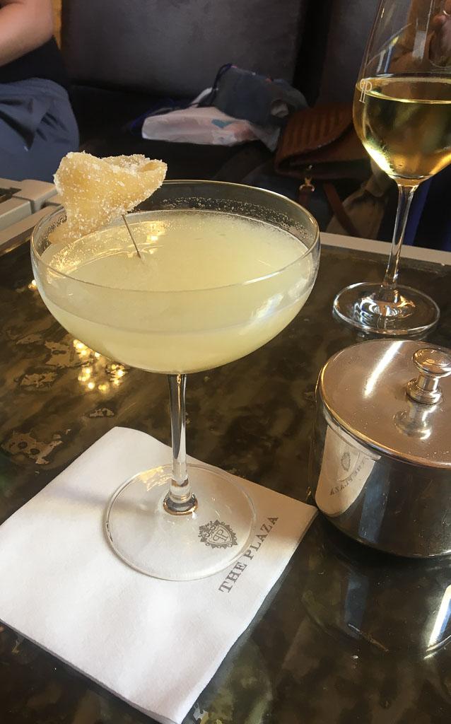 New York City Champagne Bar at the Plaza