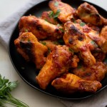 Honey Harissa Chicken Wings