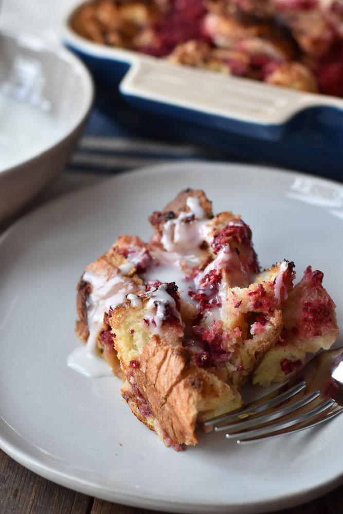 Cranberry Orange Make Ahead French Toast Bake