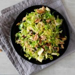 Apple Brussels Sprouts Salad