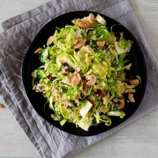 Apple Brussels Spouts Salad