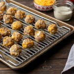 Cheesy Turkey Meatballs