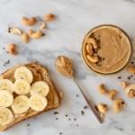 Easy Honey Cardamom Cashew Butter