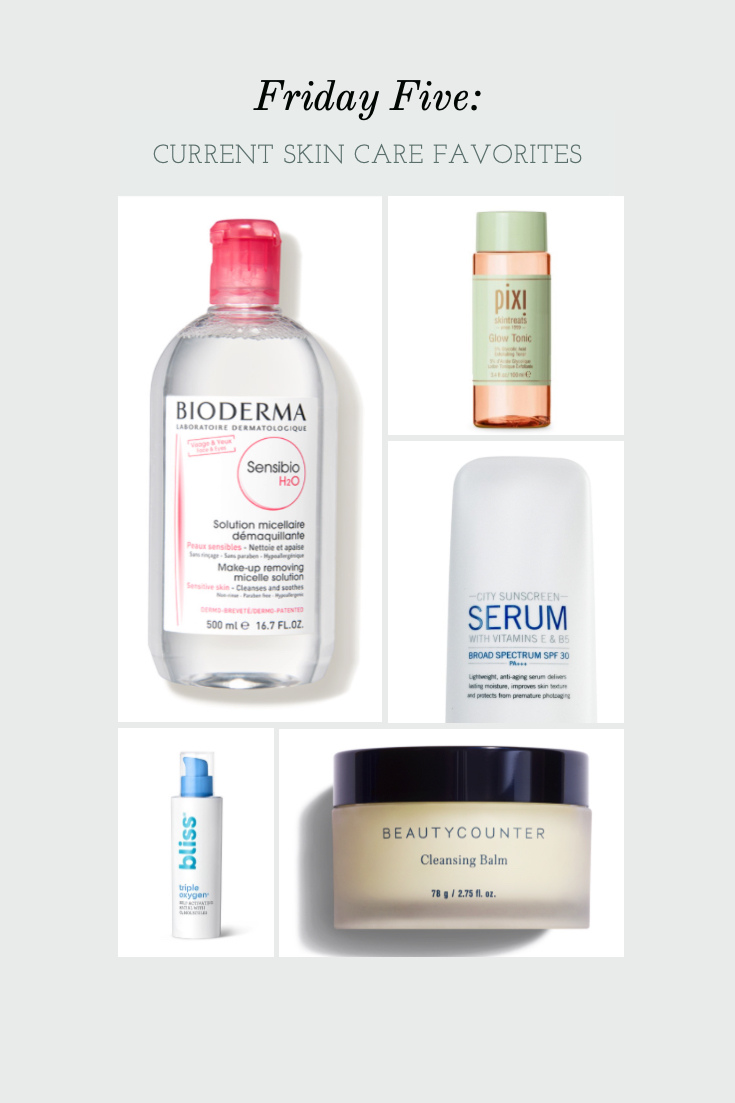 FF: Current Skin Care Favorites