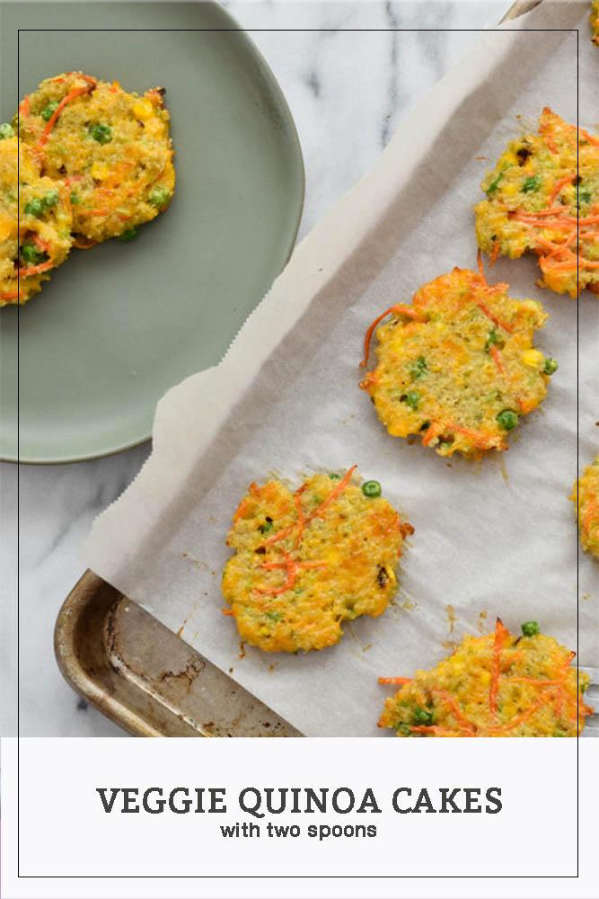 Veggie Quinoa Cakes