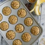 Banana Oat Blender Muffins