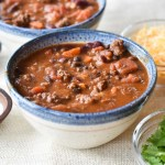 Instant Pot Chipotle Beef Chili (with a stovetop option)