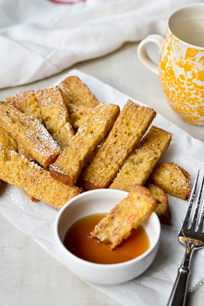 Make Ahead Cinnamon French Toast Sticks