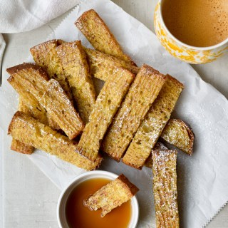 Make Ahead Cinnamon French Toast Sticks