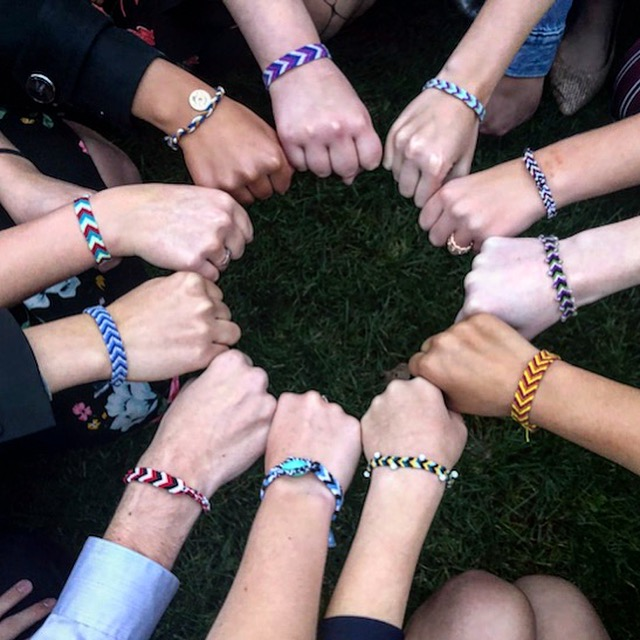 A group of hands with bracelets in a circle.  Disagreement: A little rant.