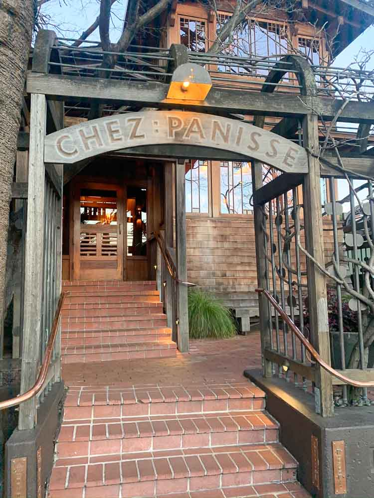 Chez Panisse, the legendary Berkeley restaurant