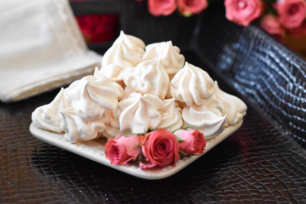 Vanilla Rose Meringues (horizontal)