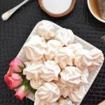 Vanilla Rose Meringues
