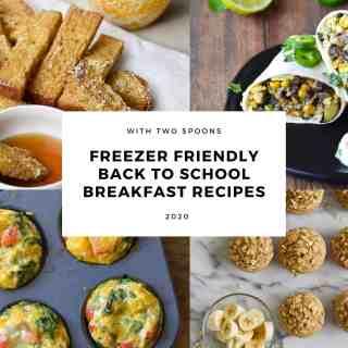Freezer Friendly Back To School Breakfast Recipes