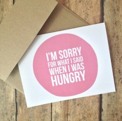 by printsmitten: http://www.etsy.com/listing/119679616/im-sorry-card-humorous-card-funny-im?ref=shop_home_active