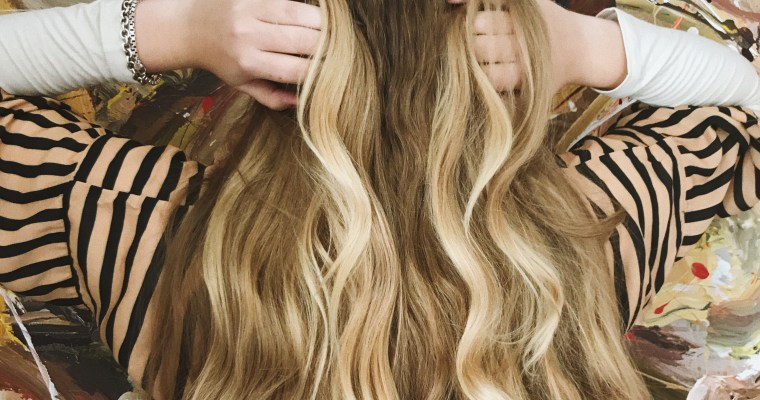 10 Minute Messy Waves