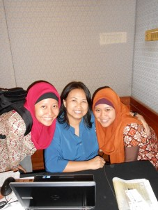 with my lovely HR manager :)