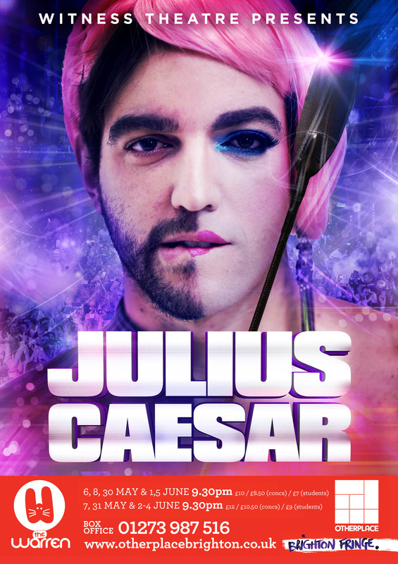 Poster for Julius Caesar 2016