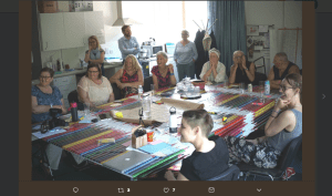 Workshop at St Wilfrid's Hospice