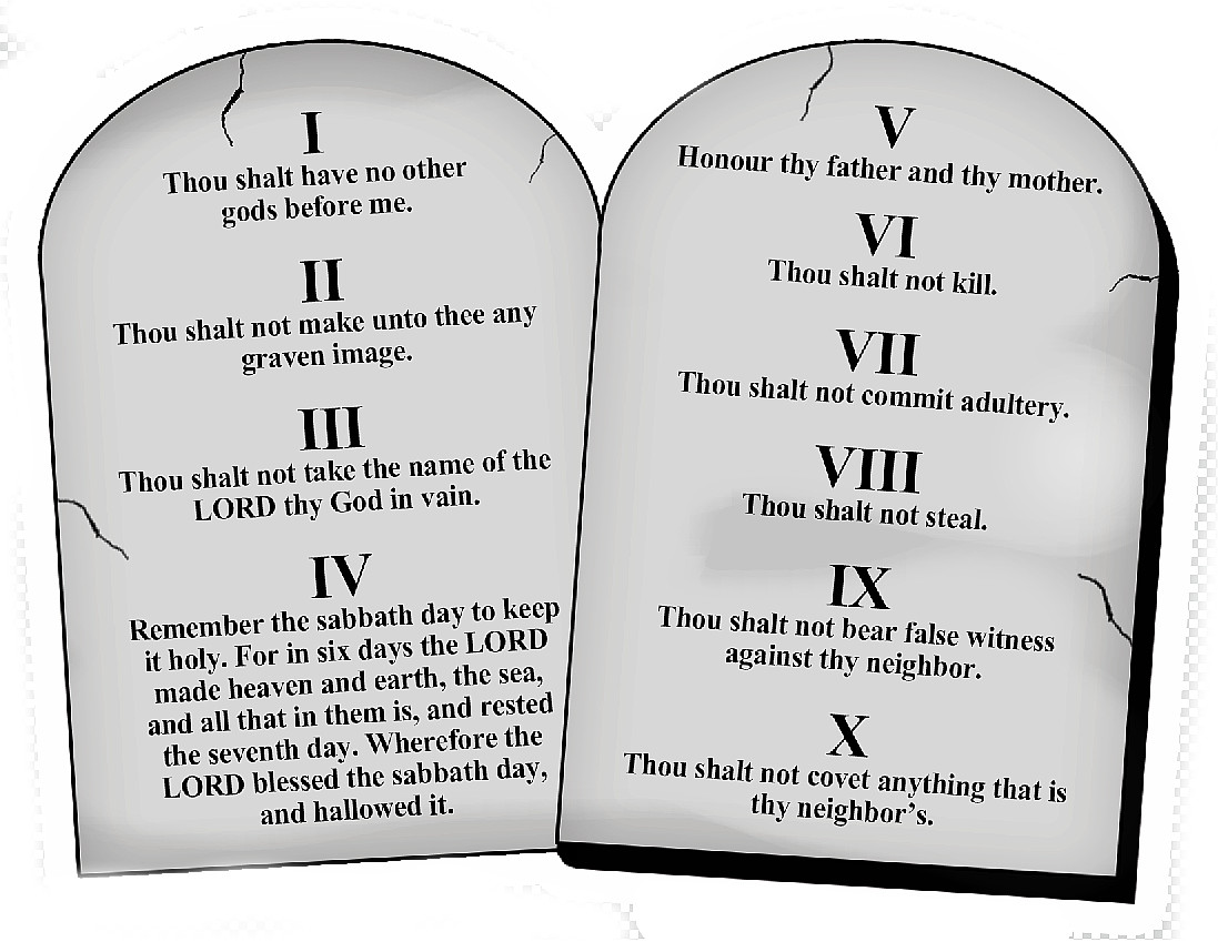 So What About The Ten Commandments