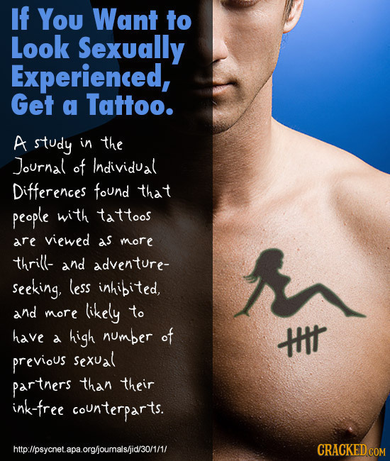 Influencing People Using Body Language - Tattoo Language (image: AuntieMeme)