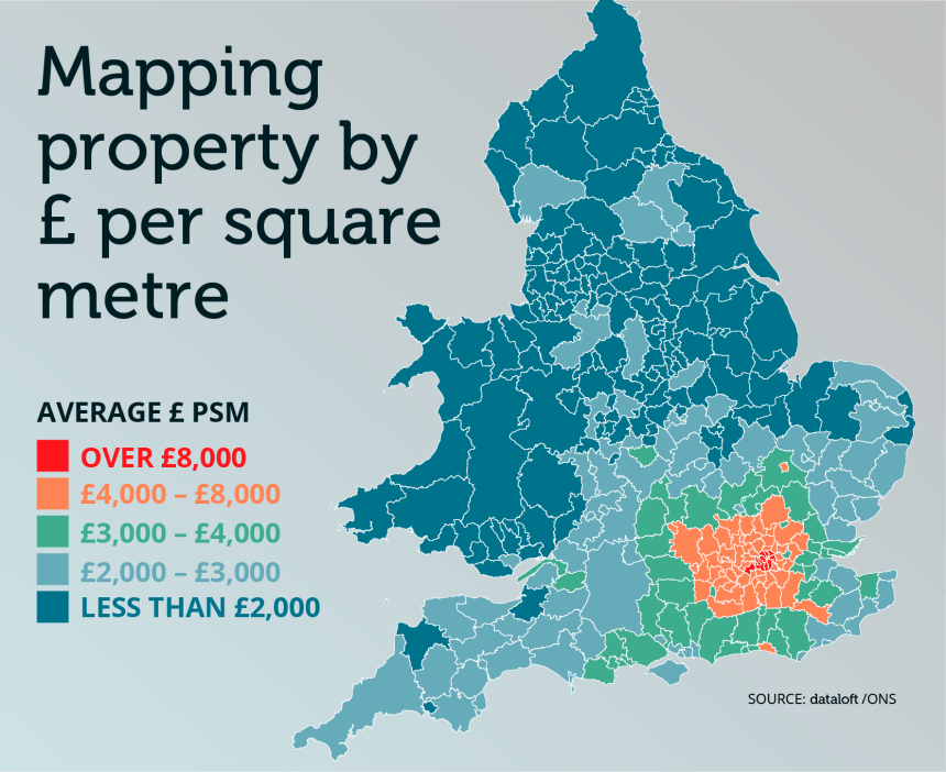 How Much Uk Average Property Prices M2 Witney Property