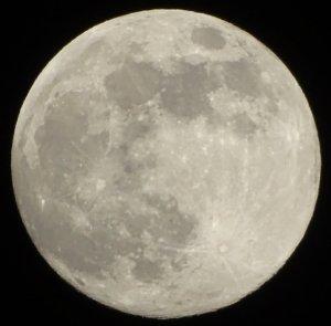 Moon on 20140908