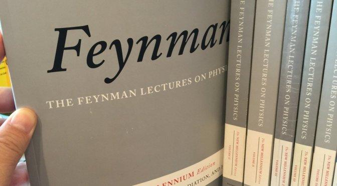หนังสือเปลี่ยนชีวิต (1): The Feynman Lectures on Physics
