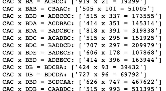 วิทย์ม.ต้น: หัดแก้และสร้างโจทย์ตัวอักษรแทนตัวเลขด้วยไพธอนกัน