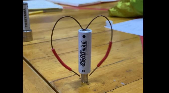วิทย์ม.ต้น: แรงจากแม่เหล็กและไฟฟ้า (Lorentz force), หัดวัดด้วยมัลติมิเตอร์, ทำโฮโมโพลาร์มอเตอร์เส้นลวด