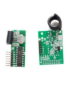 Modulo RF ASK /OOK largo alance, 433.9 MHz