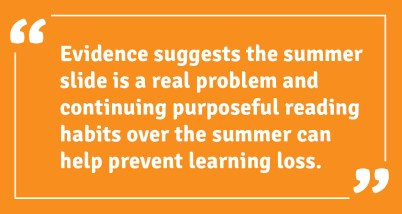 Evidence Summer Slide
