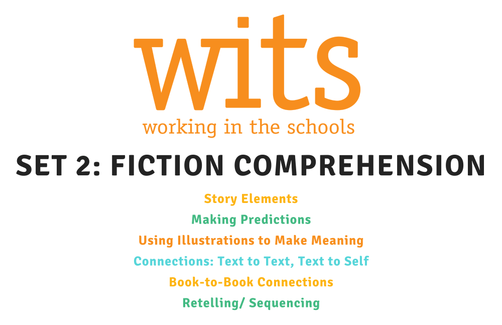 Fiction comprehension card download
