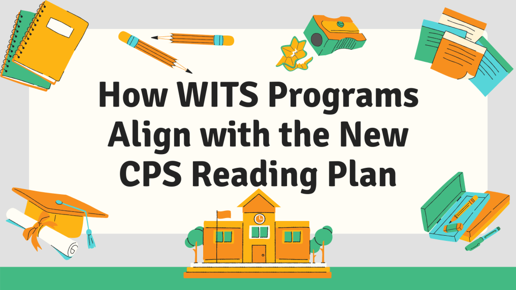 text reads: How WITS Programs Align with the New CPS Reading Plan