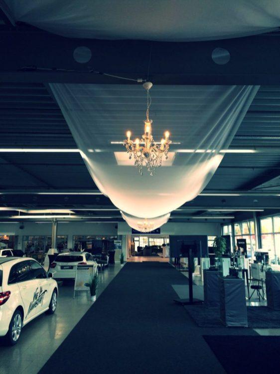 Witt Firmenevents: Showroom Dekoration