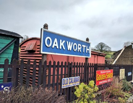 Oakworth rail station