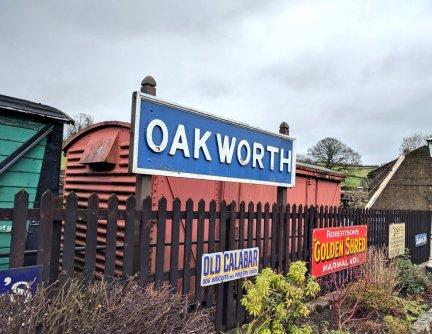 Oakworth rail station