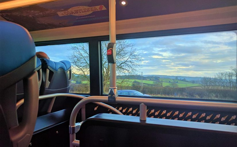 Coastliner Country from on board a new Gemini