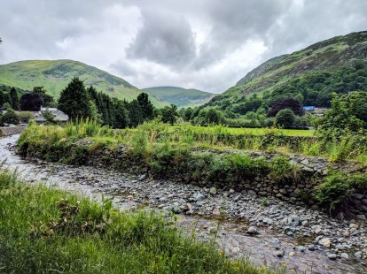 The streams and hills of Glenridding