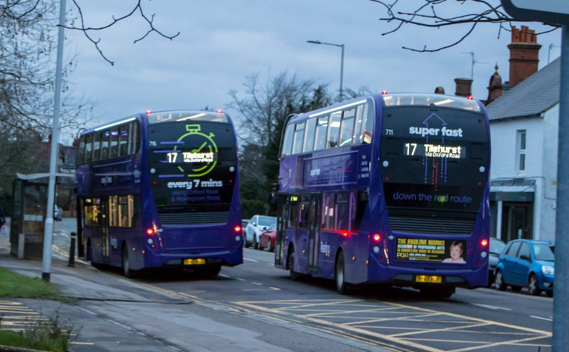 Reading's original premier route has just levelled up