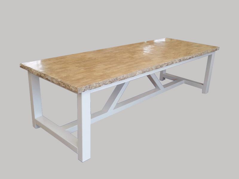 Tafel Versteend Hout : Kloostertafel met versteend hout archives u wittetafel