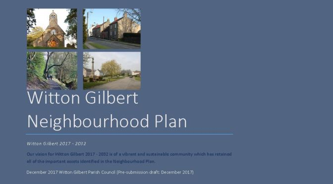 Neighbourhood Plan consultation draft