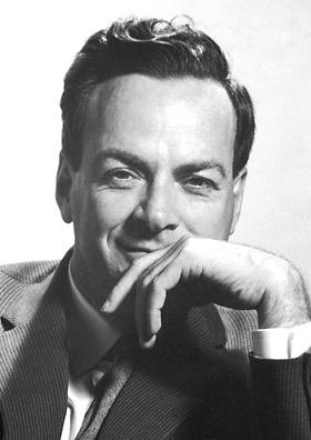 Headshot of Richard Feynman