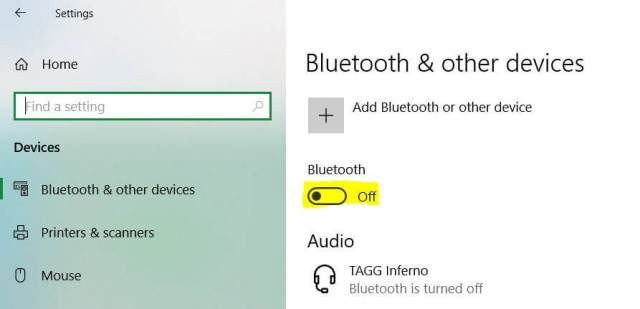 One of the Best Way To Improve Laptop Battery Life - Disabling Bluetooth and Other Hardware Devices