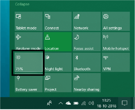 One of the Best Way to Improve Laptop Battery Life - Reduce Your Display Brightness