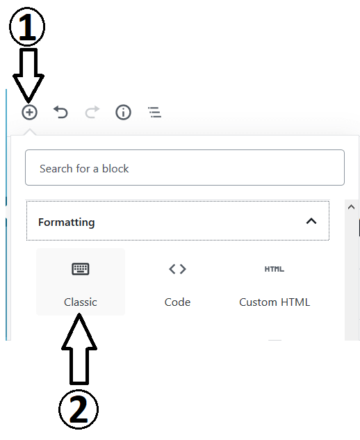 Adding The Block to Change Individual Text Colour In Gutenberg Editor