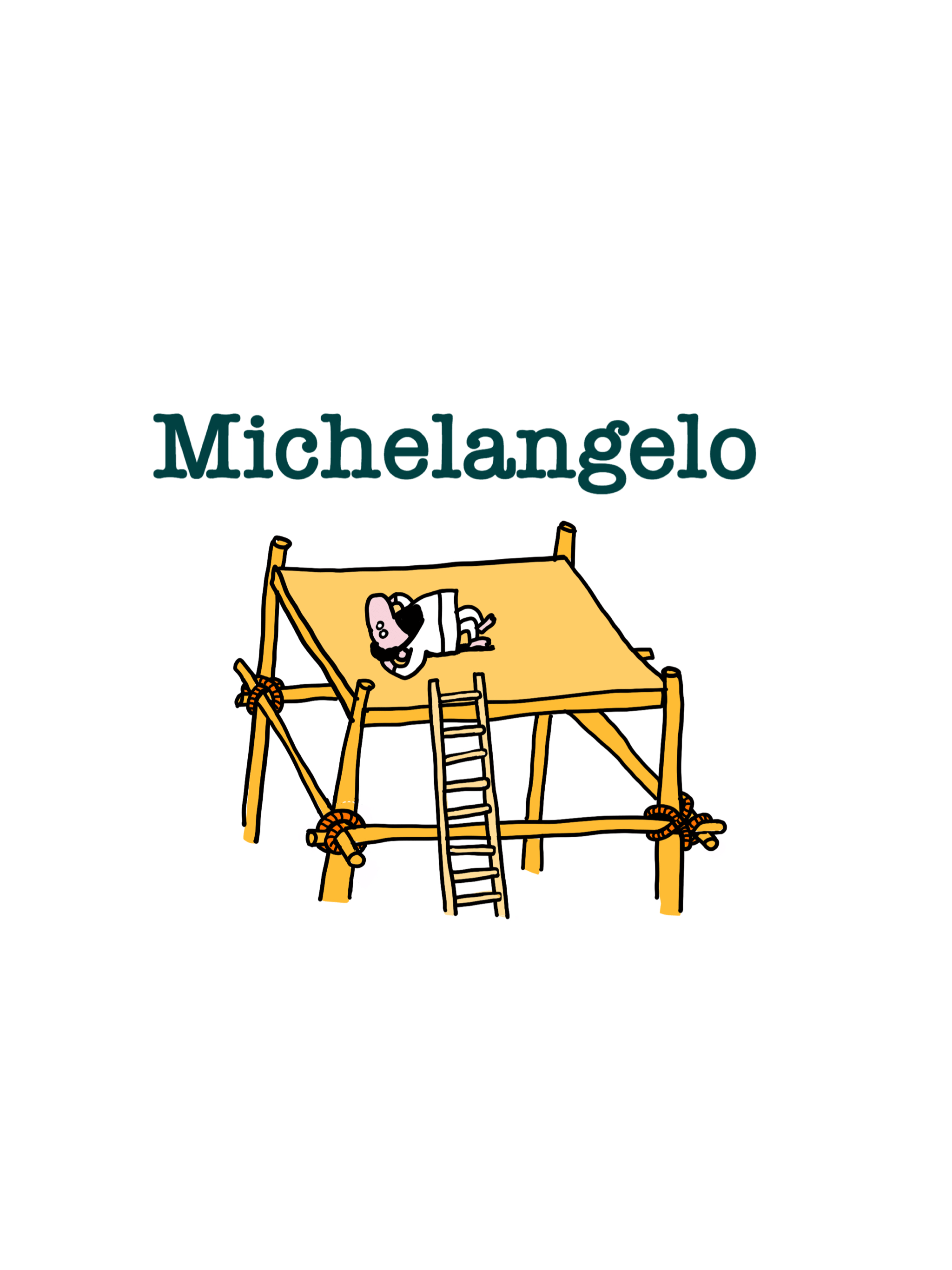 Michelangelo Buonarotti was assigned the job of painting the Sistine Chapel for Pope Julius II.