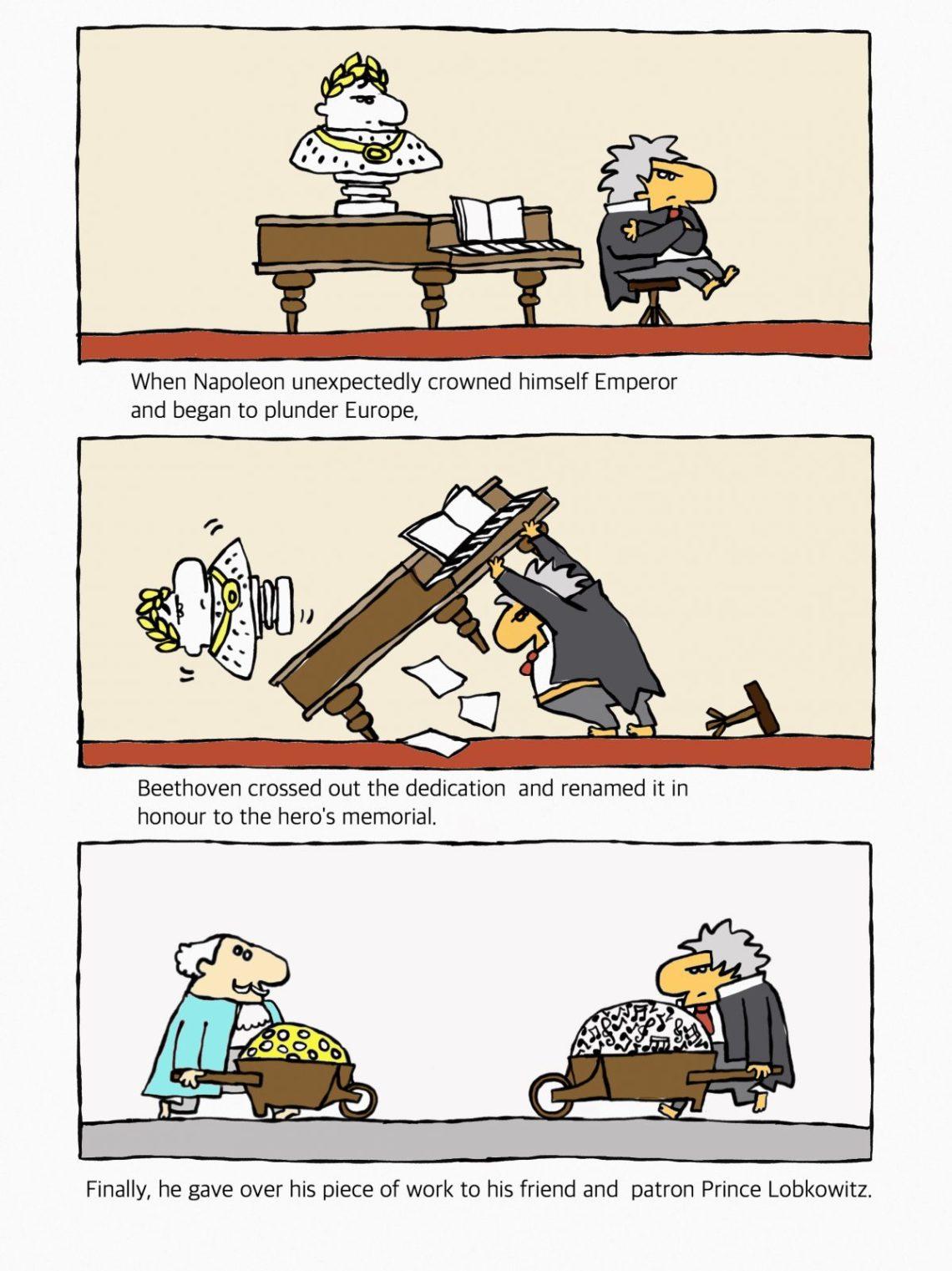 Ludwig van Beethoven, Heroic Symphony, Symphony n. 3.
