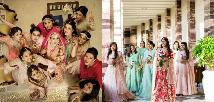 Squad pictures you must take with your girl friends | Indian wedding photo guide | Witty vOws | getting ready photo